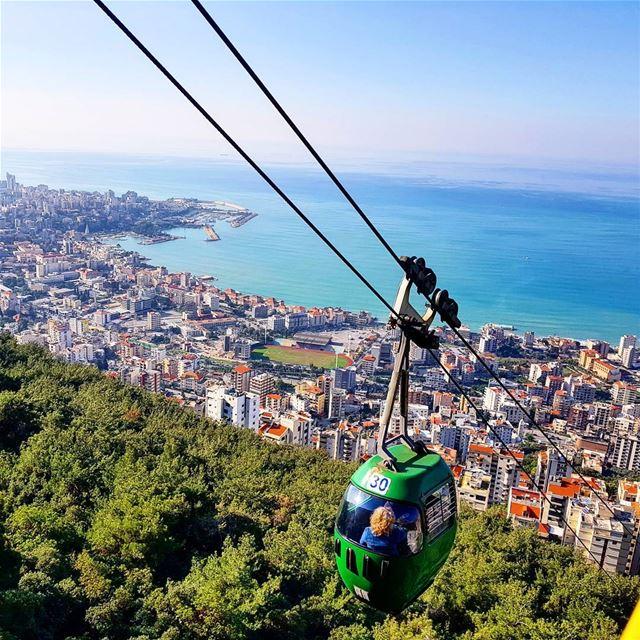 Lebanon is lovel🇱🇧❤ beautifulview beautifulweather beautifullebanon ... (Harissa Teleferque)