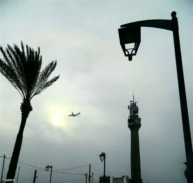 good evening beautiful day awandererinbeirut noperson travel ... (Al Manara Stadium)