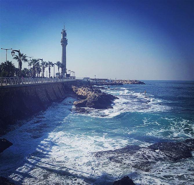 Hope you enjoyed your🌞 Summery Sunday ☀️Lebanon 🇱🇧SUMMER IN JANUARY 🌊... (Beirut, Lebanon)