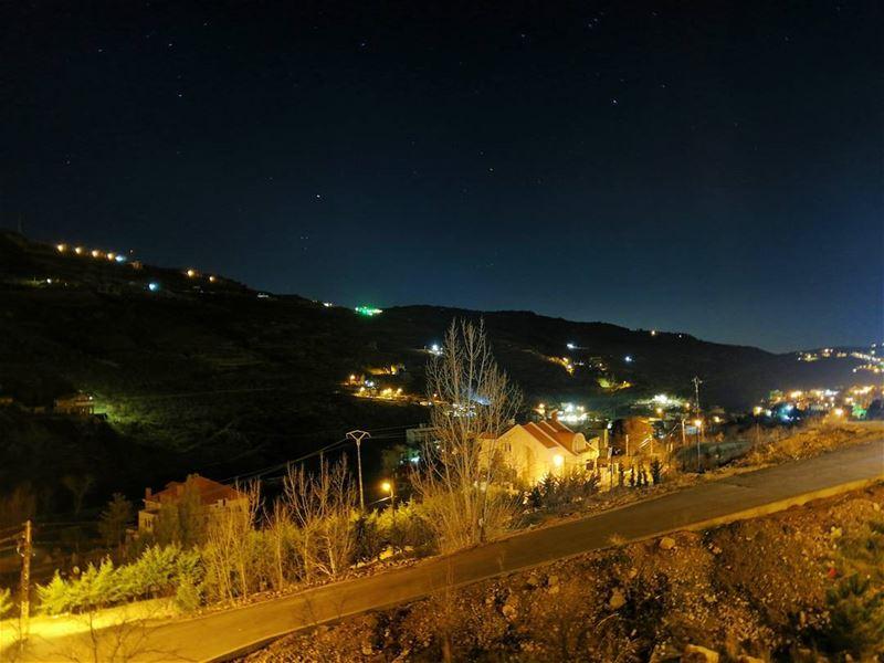 🌌 faraya farayalovers lebanon ... (Faraya, Mont-Liban, Lebanon)