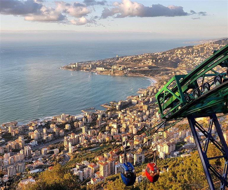 telephrique harissa whatsuplebanon eyesoflebanon meetlebanon ... (Harîssa, Mont-Liban, Lebanon)