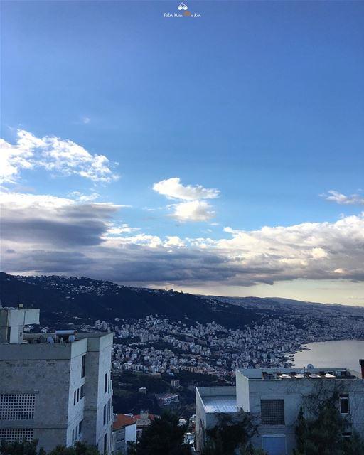 PeterWenMaken Morning View 🏙❤️☝🏻...... lebanon beirut ... (Adma, Mont-Liban, Lebanon)