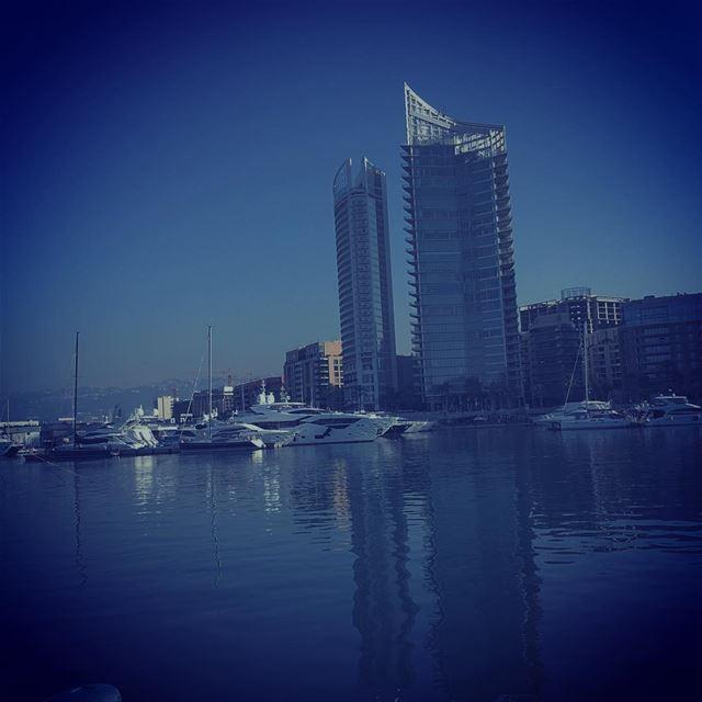 Blue Beirut 💙 ... (Beirut, Lebanon)
