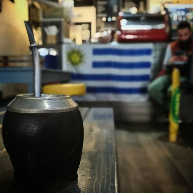El mate Uruguayo - ichalhoub in Tripoli north Lebanon shooting with a...