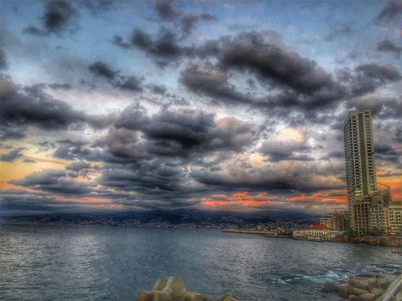 Bonjour Beirut .. mycity city beirut beiruting lebanon beirutcity ... (Beirut, Lebanon)