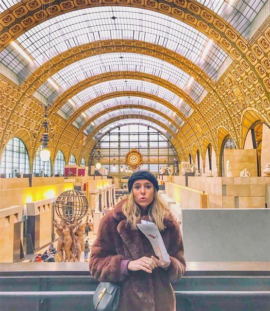 What? I didn't say I won't nag in 2018 🙆🏼♀️ beautifulorsay .. paris ... (Musée d'Orsay)