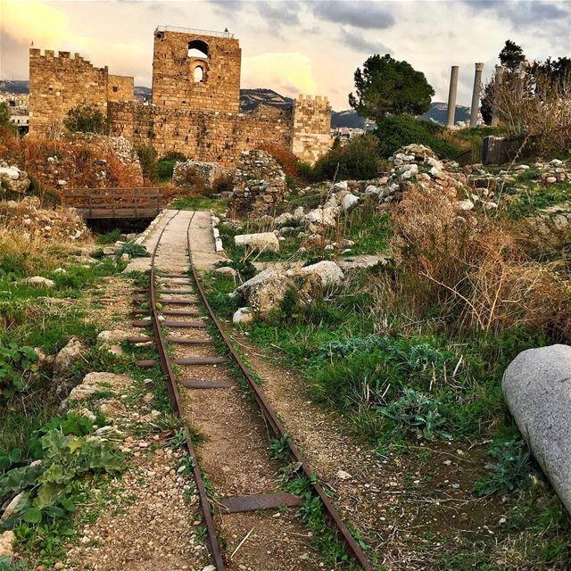 All road leads to Byblos ❤️ livelovebyblos byblosiloveyou ilovebyblos ... (Byblos - Jbeil)