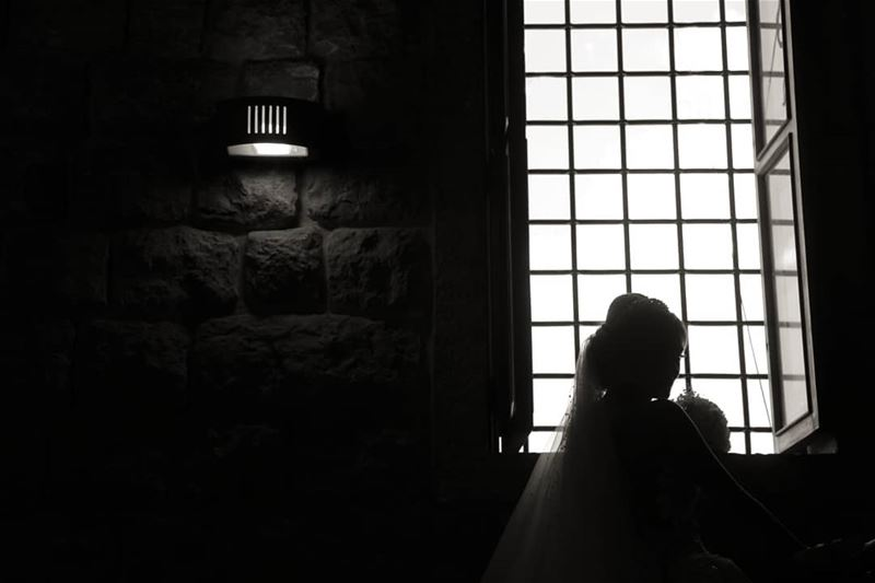 weddingday bride blackandwhite silouette lebanonweddings lebanon ...