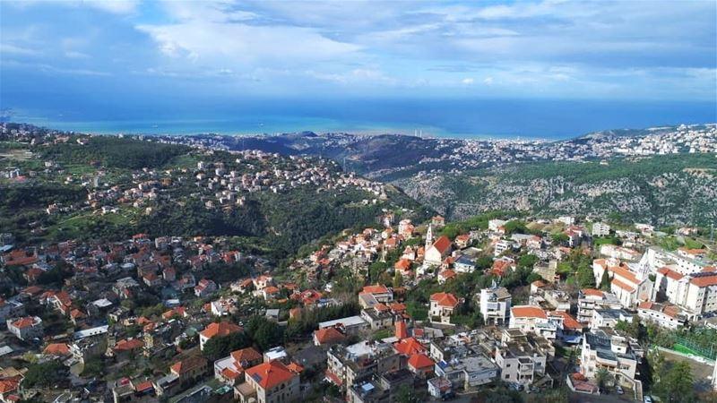 beitchabeb village lebanese lebanon drone photography tourism ... (Beït Chabâb, Mont-Liban, Lebanon)