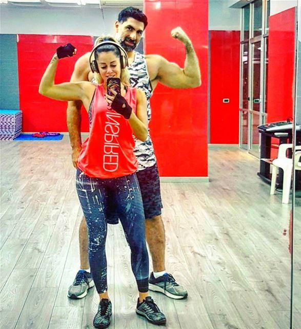 Training with the Beast 💪 beautyandthebeast him respect newbeginning ...