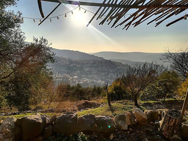 awalktoremember awalktoforget beautifullady sunnyday amazingview ... (Jnaynitna Zaghla Home)