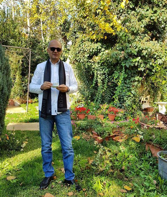 Good morning. zahle zahleh lebanon morning coffee garden family vacation... (Zahlé District)