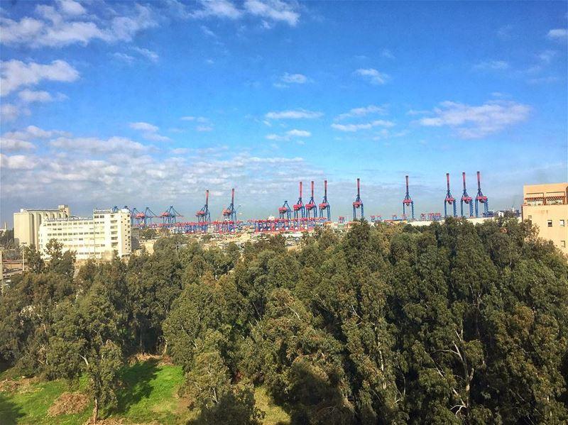 Port of Beirut 😍 livelovebeirut beiruting beirut lebanon ... (Port of Beirut)