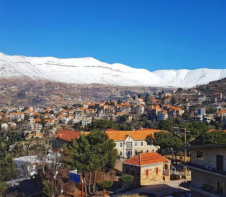 Beautiful mountain villages of Lebanon mountain villages kings_villages... (Hasroun)