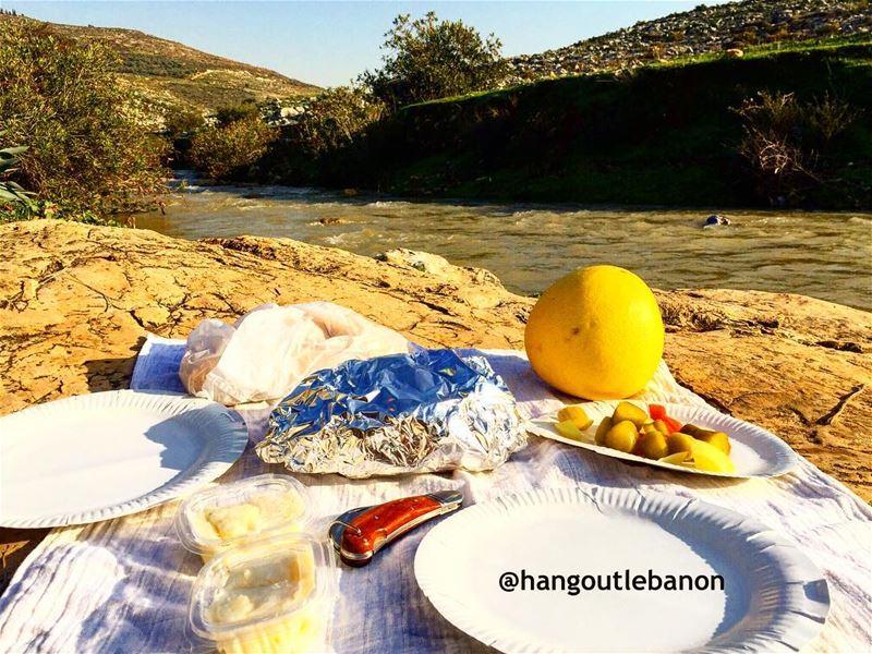 Live simply, live Lebanon! Happy lunch. zahraniriver - hangoutlebanon ...