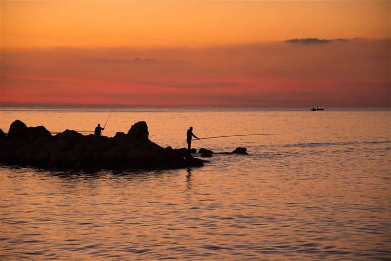 Infinity... shot in tripoli lebanon tripolilebanon fisherman ...