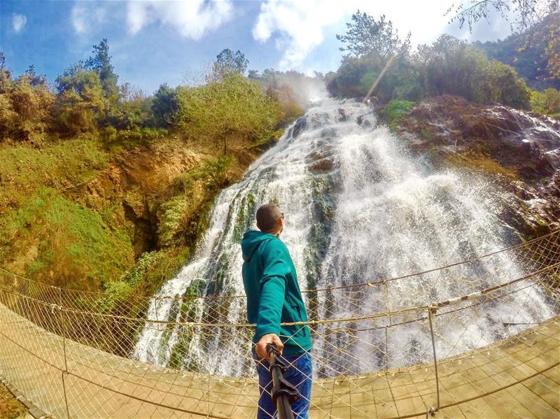 Running wild and free  waterfall lebanonspotlights gopro gpotd goproboss...