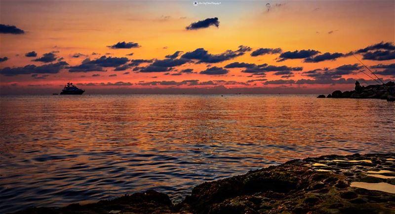 No where is better sunset. livelovelife visitlebanon livelovebyblos ... (Byblos - Jbeil)