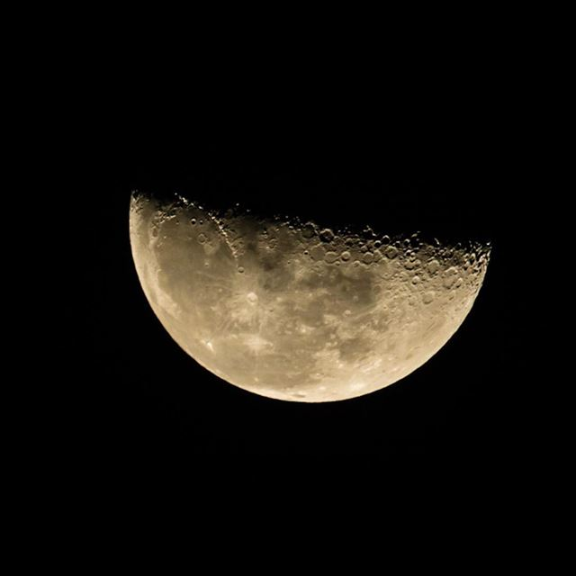 The Half..the moon cycle, shot from beirut lebanon , instagram ...