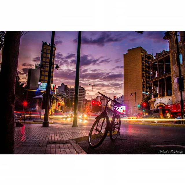 beirut  dawn  street  city  lebanon  bike  cars  bicycle  ig_lebanon ...