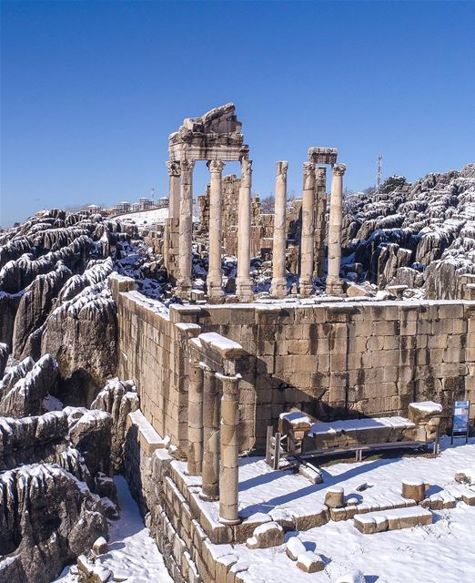 Você sabia que os templos de Faqra a 1.550 metros acima do mar são as... (Faqra Ruins)