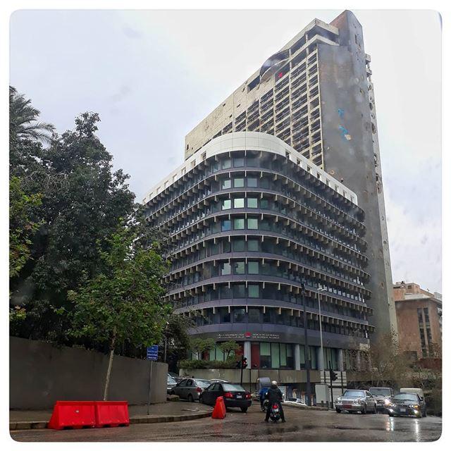 🇱🇧 Holiday Inn - Beirut.. uglybeirut uglycity cityview beirut ... (Beirut, Lebanon)