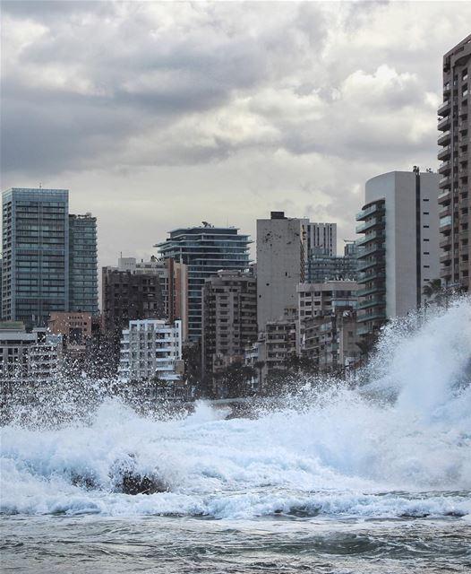 Stormy... (Beirut, Lebanon)