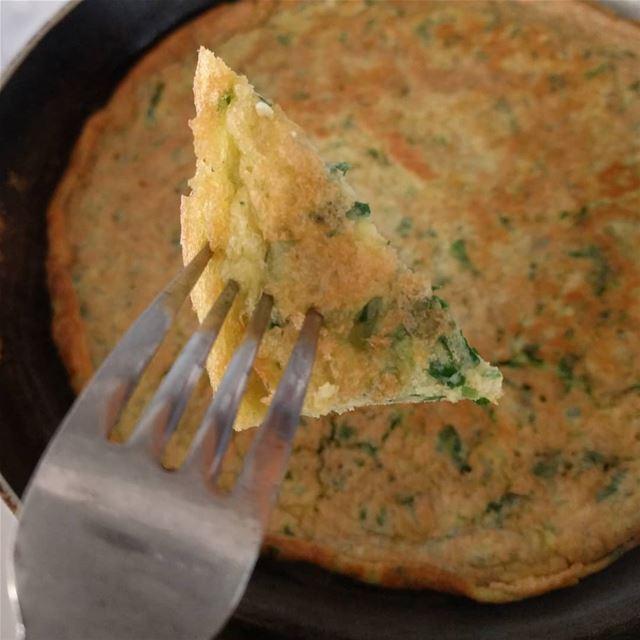 عجة عجة_خضار eggswithherbs eggswithvegetables eggs food yummyfood ...