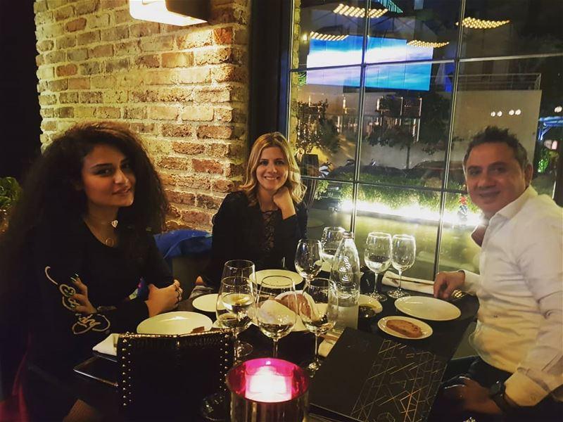 myhubby koruslounge dinnertime enjoyingthemoment livelovelebanon ... (Korus Lounge)