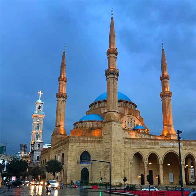 Beirut lebanon mosque church picoftheday photooftheday instagood ... (Beirut, Lebanon)