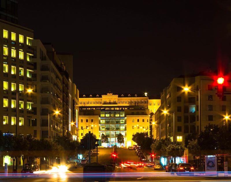 Beirut lebanon night photography cityscape livelovebeirut insta_lebanon... (Beirut, Lebanon)