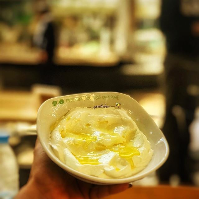 Craving this Labneh bowl from @zaatarwzeit with brown bread😋😋...... (Abc Achrafieh)