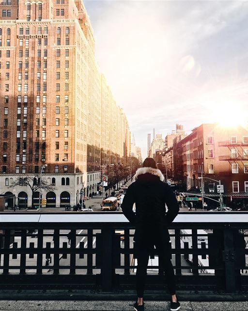 🌇 NYC NewYorkCity NewYork SoHo love rumi thecity lebanon ... (The High Line)