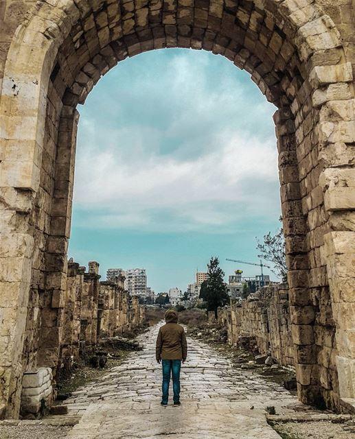 The gates to my imaginary world 🔮 StoriesFromLebanon TheWeekOnInstagram... (Tyre, Lebanon)