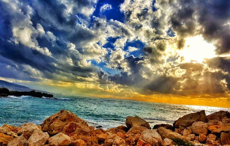 Every storm runs out of rain byblos jbeil sea storm ... (Byblos - Jbeil)