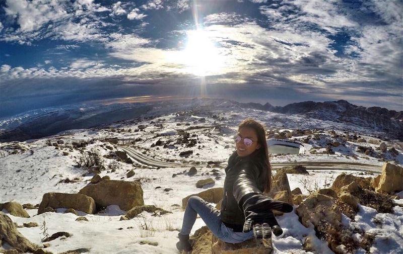 Take my hand & let's go on an Adventure ❄️.... livelovebeirut ... (El Laklouk, Mont-Liban, Lebanon)