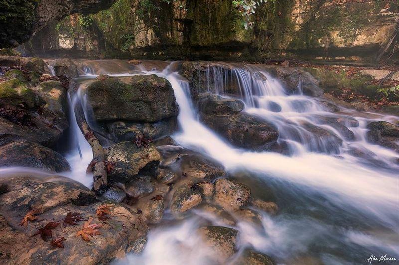 Quick rush... runningwater lebanon nature tree leaves river ...