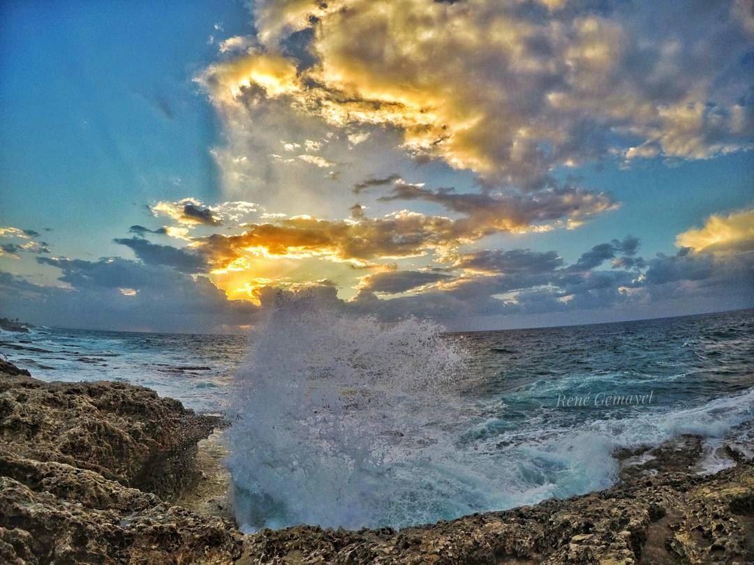 ...Home is where the waves crash... LebanonTimes ig_lebanon ...
