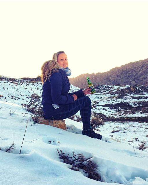 Cheers Lebanon 🍻🇱🇧💚... keepdiscovering ... lucyinlebanon 💚 (El Laklouk, Mont-Liban, Lebanon)