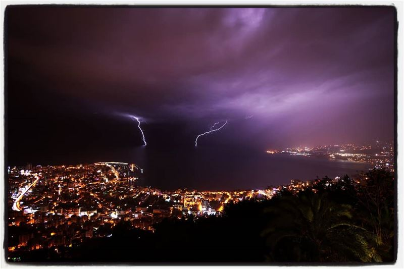 Light lightening...  Ceraunophile  Light  Lightning  Thunder  ThunderLove ... (Harîssa, Mont-Liban, Lebanon)