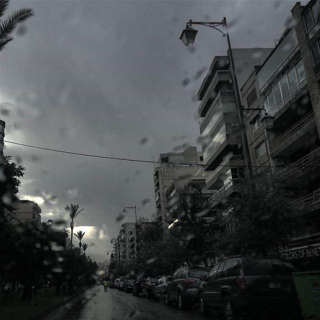 Una calle vacía de la ciudad - ichalhoub in Tripoli north Lebanon...