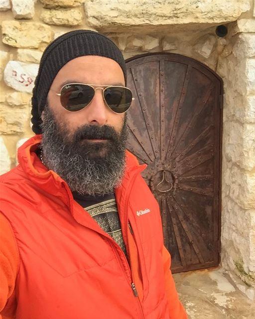 Back to Lebanon😌 lebanon lebanese igers beard bearded winter cold ...