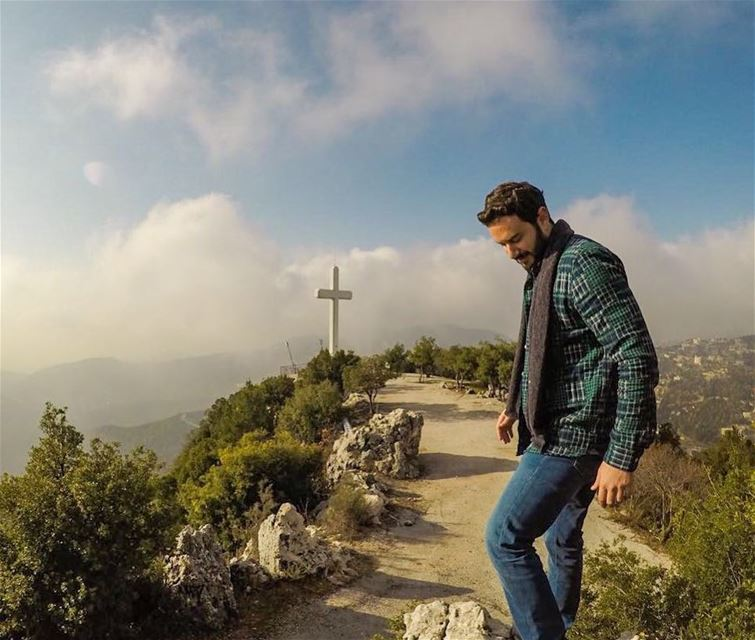 Be Sure You Put Your Feet in The Right Place, Then Stand Firm☀️ -Abraham... (Chahtoûl, Mont-Liban, Lebanon)
