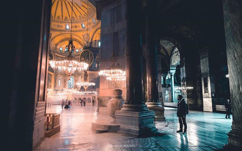 From 537 AD and Byzantine Empire, Church of the holy wisdom ✨-- ... (Hagia Sophia)