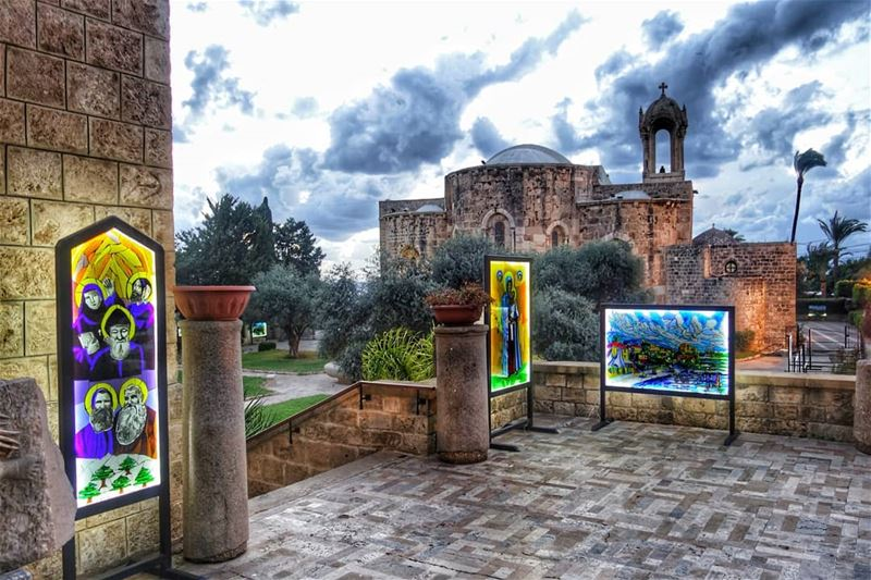 "🙏💛†💛🙏 ""Earth has no sorrow that heaven cannot heal."" - Saint Thomas... (Byblos, Lebanon)"