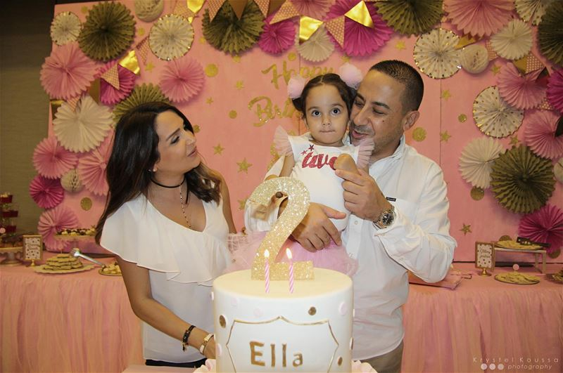 Throwback to Ella's Royal Gold, Pink & White Birthday! 👑💖🎉 Book your... (Jeita Country Club)