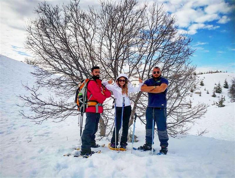 Would you join our snowshoeing squad!? ⛷⛷⛷ snowshoeingadventures ❄️🎿...