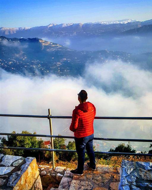 lebanon lebanon_hdr lebanonstyle moutains sky mountainslovers ... (Annâya, Mont-Liban, Lebanon)