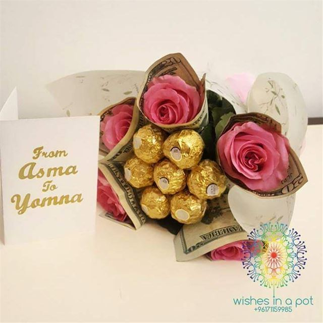 Consider this for valentinesday 71159985 money roses chocolate ...