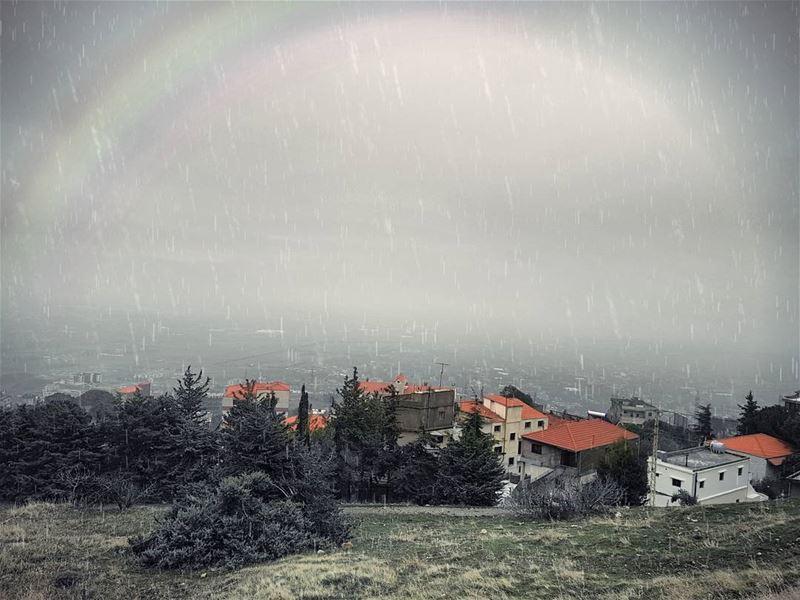 Let it Rain! 🌧 (El Mreijat, Béqaa, Lebanon)